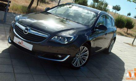 Al volante del Opel Insignia Sports Tourer