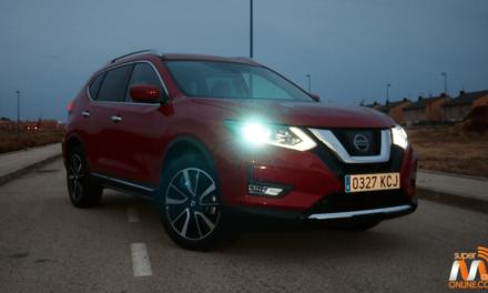 Al volante del Nissan X-Trail 2017