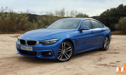 Al volante del BMW 420D Gran Coupé 2017