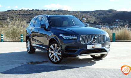 Al volante del Volvo XC90 T8 2018