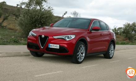 Al volante del Alfa Romeo Stelvio Q4 2018