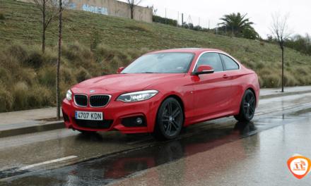 Al volante del BMW 220d Coupé 2018
