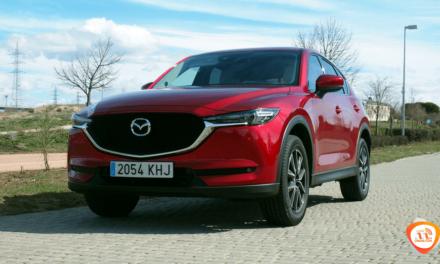 Al volante del Mazda CX-5 2018