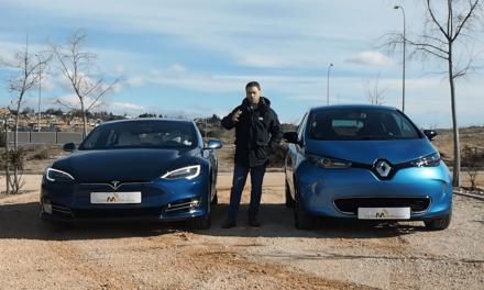 Comparativa de coches eléctricos, Tesla Model S vs. Renault ZOE