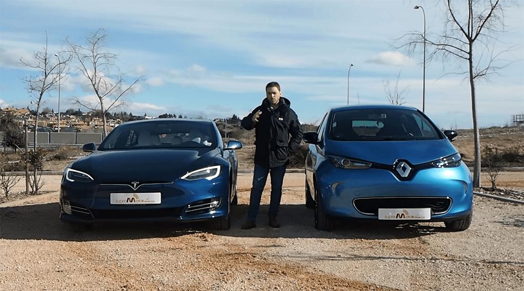 Tesla Model S vs. Renault ZOE