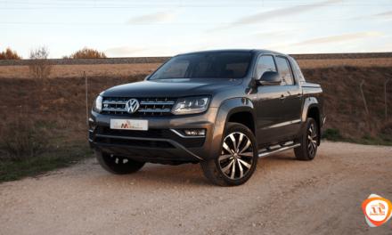 Al volante del Volkswagen Amarok Aventura 2018