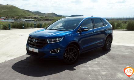 Al volante del Ford Edge ST-Line 2018