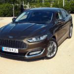 Al volante del Ford Mondeo Vignale Hybrid 2018