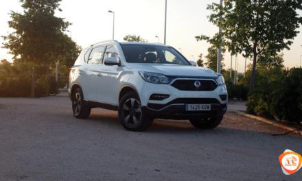 Al volante del Ssangyong Rexton 2018