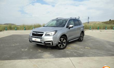 Al volante del Subaru Forester 2018