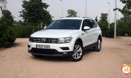 Al volante del Volkswagen Tiguan Allspace 2018