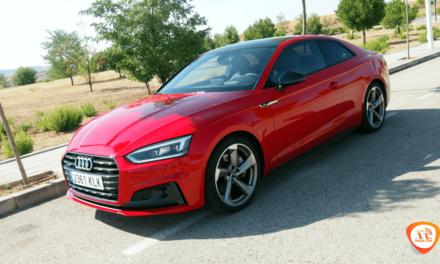 Al volante del Audi A5 Coupé 2018