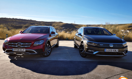 Comparativa familiares camperos 2018, Volkswagen Passat Alltrack y Mercedes-Benz Clase E Estate All-Terrain