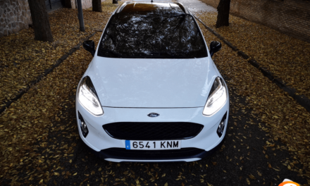 Al volante del Ford Fiesta Active 2018