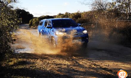 Al volante del Toyota Hilux 2018