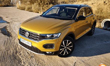 Al volante del Volkswagen T-Roc 2018