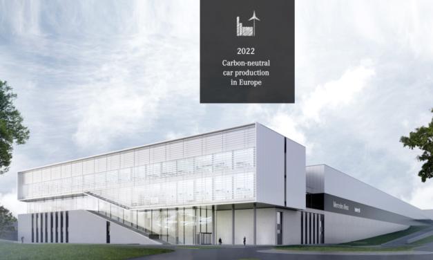 Desde 2022 las fábricas europeas de Daimler tendrán una huella neutral de CO2