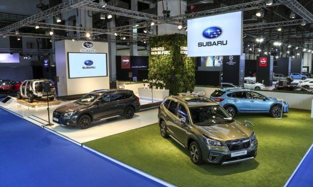 Subaru presenta su gama híbrida en Automobile Barcelona
