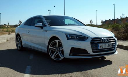 Al volante del Audi A5 Coupé 2017