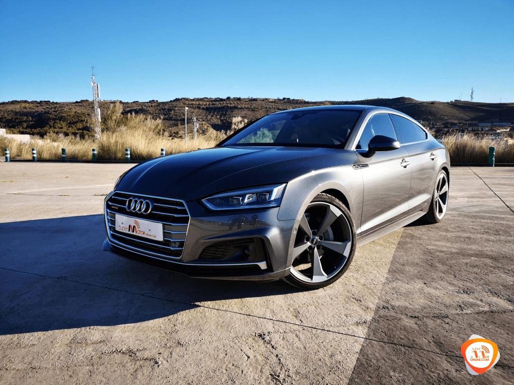 Al volante del Audi A5 Sportback 2019