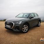 Al volante del Audi Q3 2020