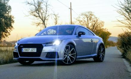 Al volante del Audi TTS Coupé 2017