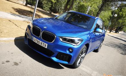 Al volante del BMW X1 M Sport 2019