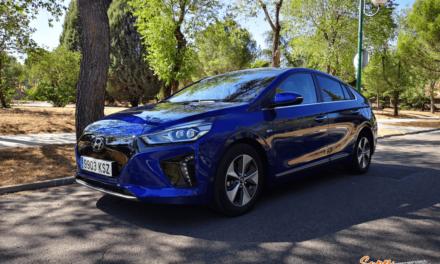 Al volante del Hyundai IONIQ EV 2019