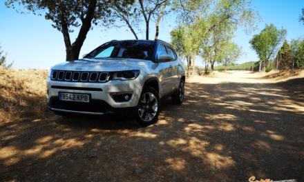 Al volante del Jeep Compass 4×4 2019