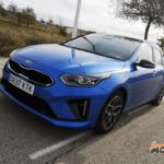 Al volante del Kia Ceed Tourer 2019