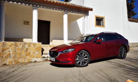 Al volante del Mazda 6 SW 2019