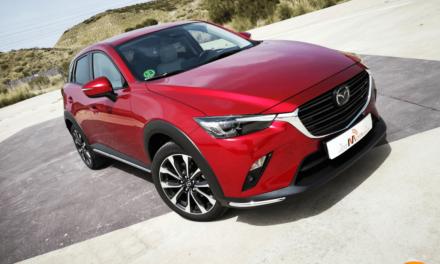 Al volante del Mazda CX-3 2019