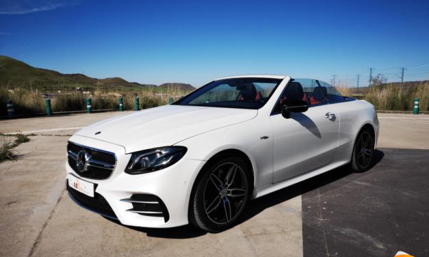 Al volante del Mercedes-AMG E53 Cabrio 2019