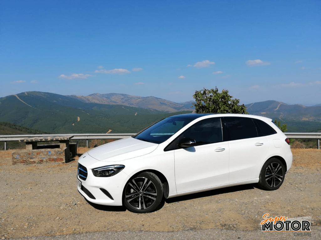 Al volante del Mercedes-Benz Clase B 2019