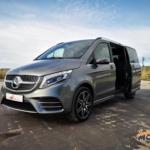 Al volante del Mercedes-Benz Clase V 300d 4Matic 2019