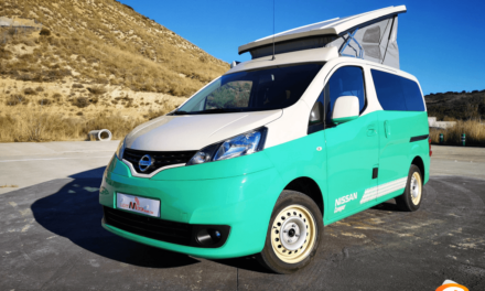 Al volante del Nissan NV200 Camper 2018