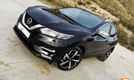 Al volante del Nissan Qashqai 2019