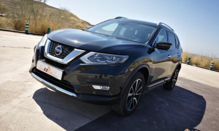 Al volante del Nissan X-Trail 2019