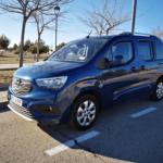 Al volante del Opel Combo Life 2019