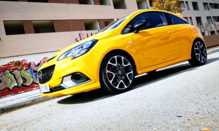 Al volante del Opel Corsa GSi 2019