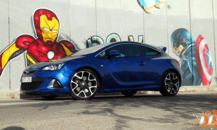 Al volante del Opel GTC OPC 2017