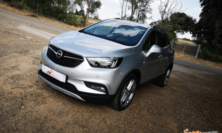 Al volante del Opel Mokka X GLP 2019