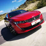 Al volante del Peugeot 508 GT Line 2019
