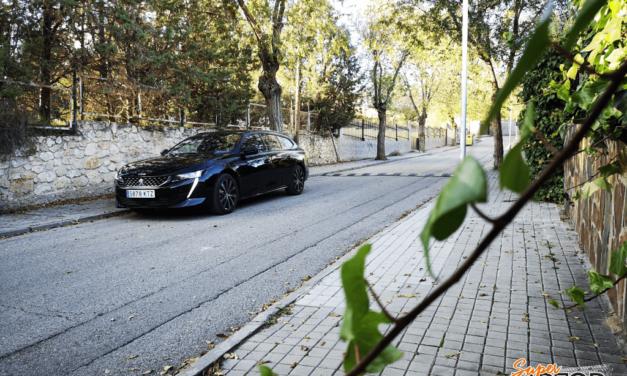 Al volante del Peugeot 508 SW GT-Line 2019
