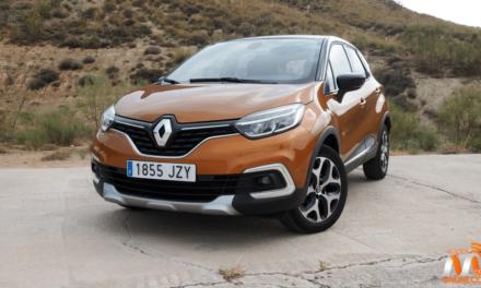 Al volante del Renault Captur 2017