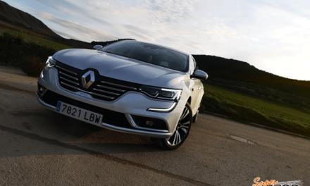 Al volante del Renault Talisman Initiale Paris 2019