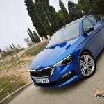 Al volante del Skoda Scala 2019