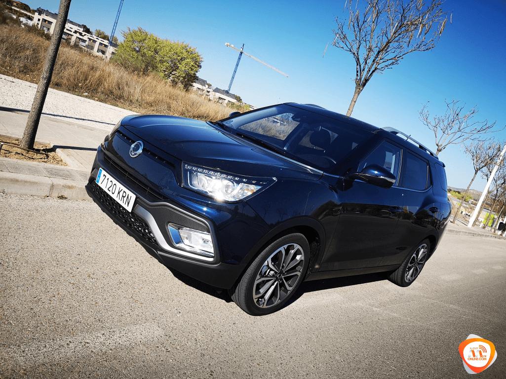 Al volante del SsangYong XLV GLP 2019