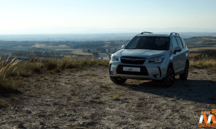 Al volante del Subaru Forester XT 2017