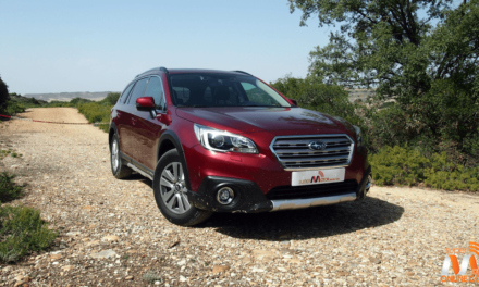 Al volante del Subaru Outback 2017